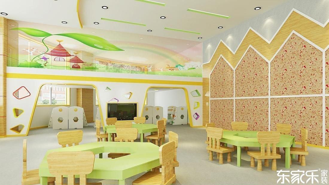 长沙装修设计详解:为了孩子们的安全健康,幼儿园装修材料怎么选
