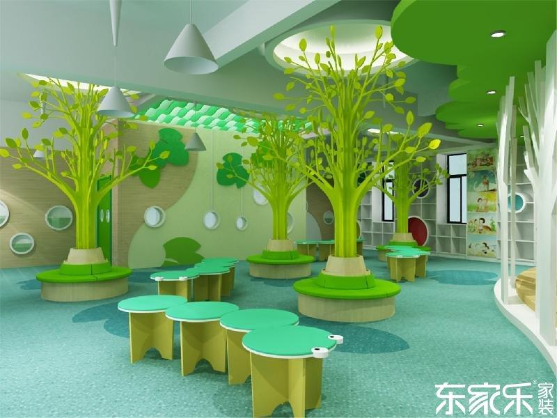 要想幼儿园装修的像童话王国,长沙装修公司提醒色彩这样搭配就对了!