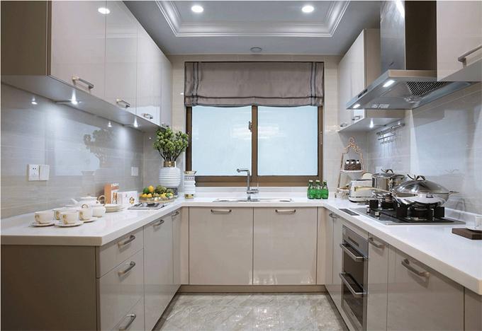3房2厅厨房装修效果图
