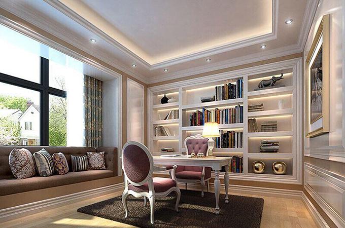 3房2厅书房装修效果图