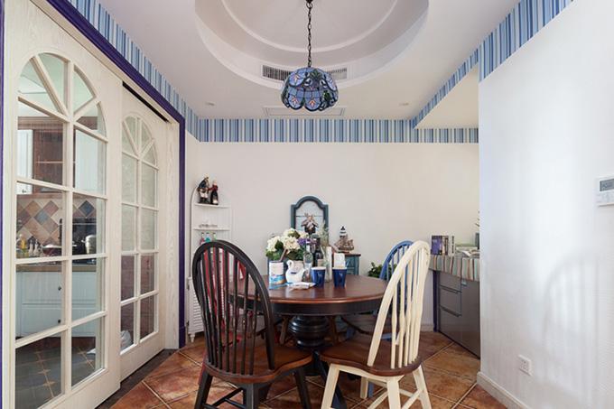 85平米地中海风格厨房装修效果图