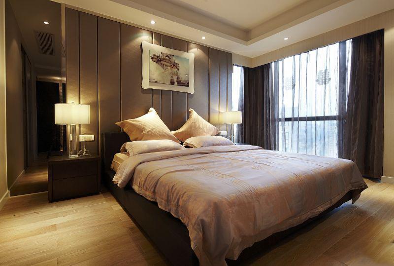 90平北欧装修风格卧室装修效果图
