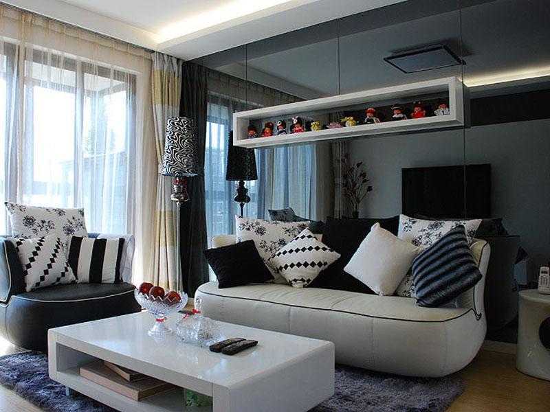 70平小户型客厅装修效果图