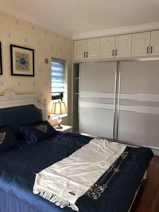 远大麓园90平3房2厅2卫简欧现代主卧效果图