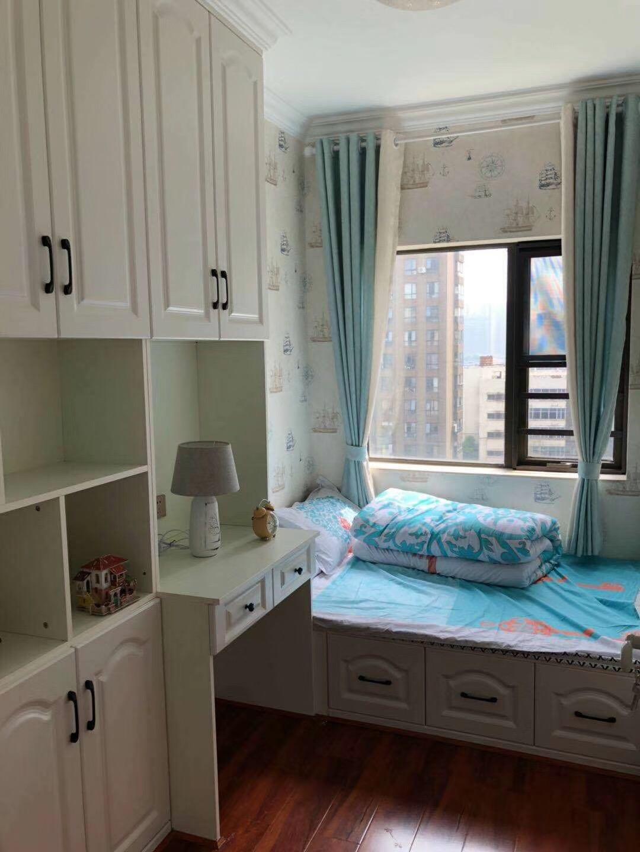 远大麓园90平3房2厅2卫简欧现代次卧图片