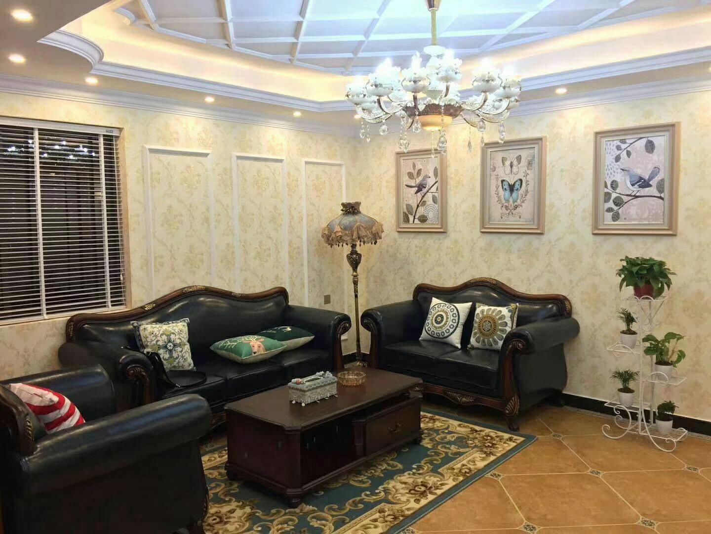 衡阳128平新中式客厅装修效果图