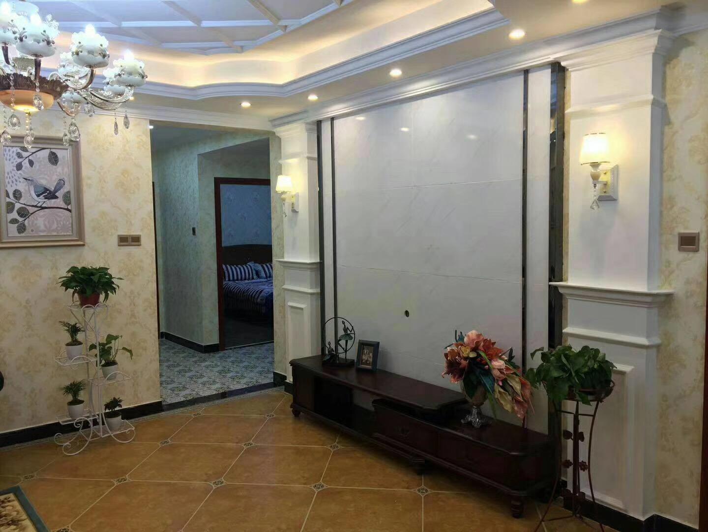 衡阳128平新中式客厅电视背景墙图片