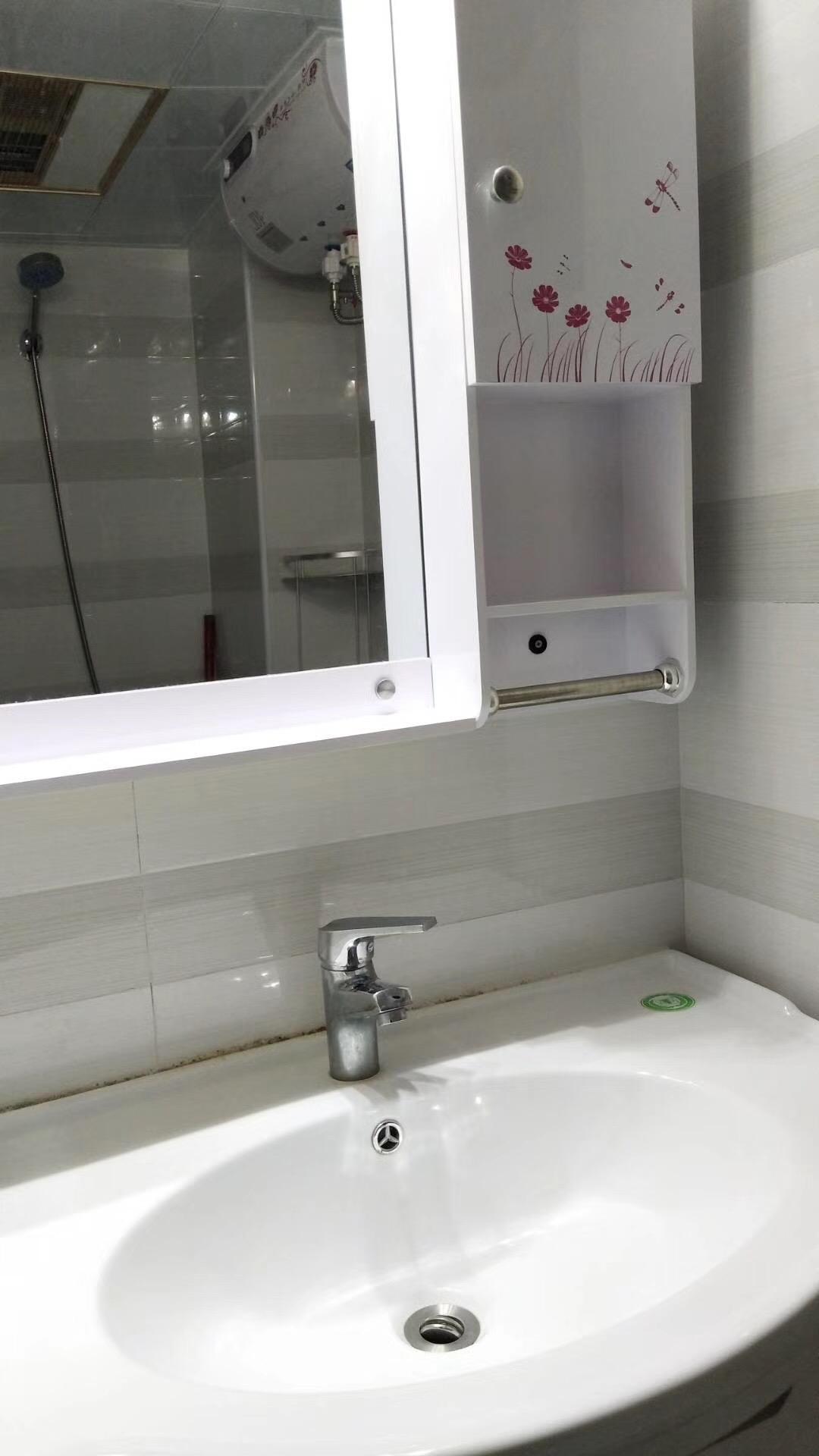 长沙85平米北欧现代卫生间装修效果图