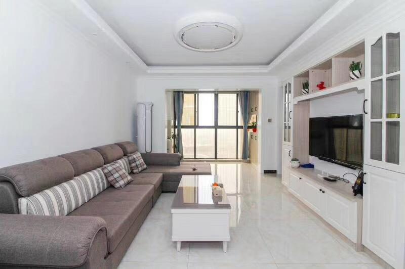 长沙80平米现代简约客厅装修效果图