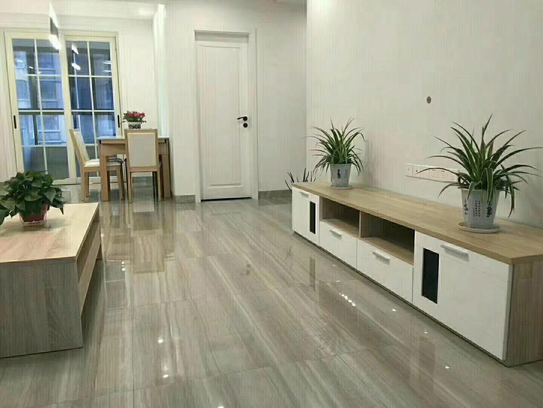 常德80平米现代简约客厅装饰搭配