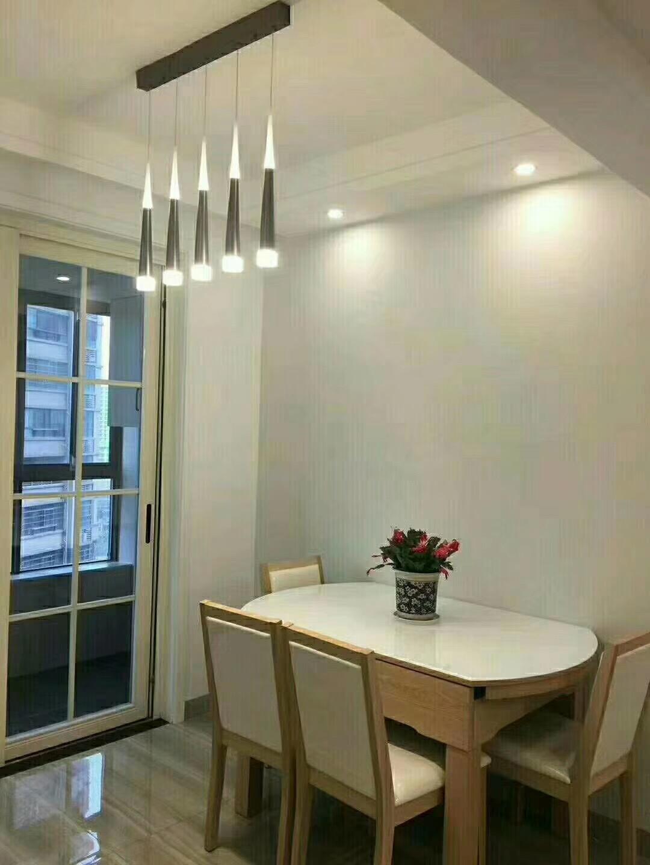 常德80平米现代简约餐厅展示图