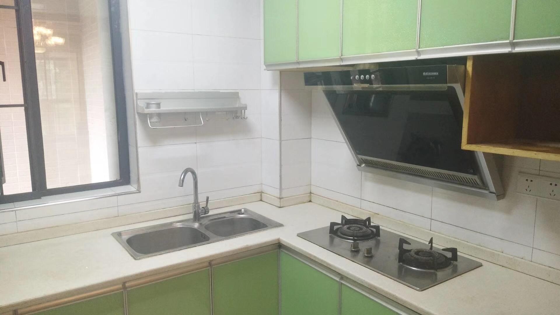 株洲86平米北欧简约风格厨房装修效果图
