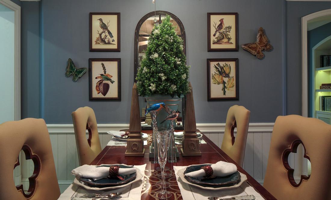 90平米地中海风格厨房装饰搭配图