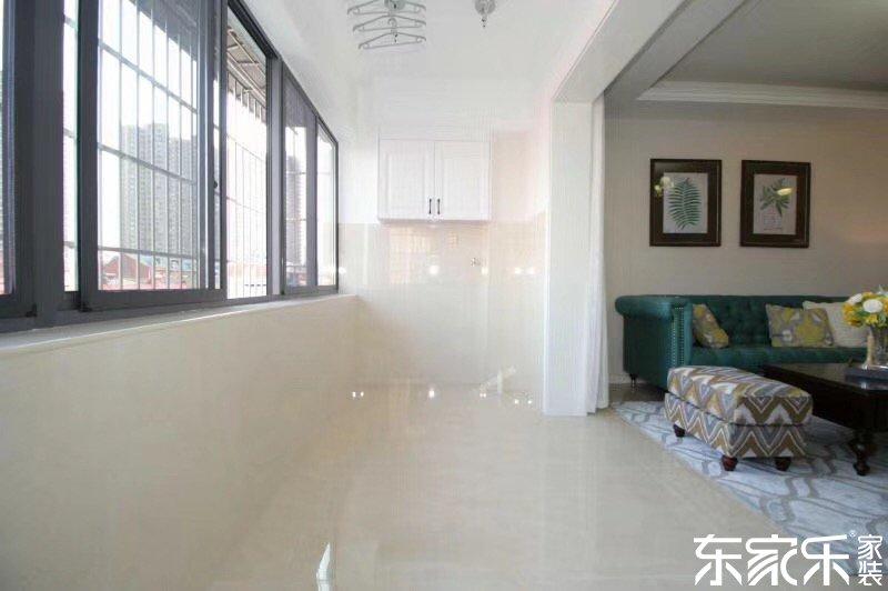 115平米现代简约风格客厅玄关