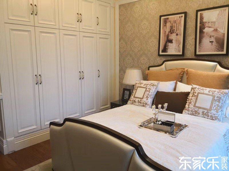 130平米欧式风格次卧装饰搭配
