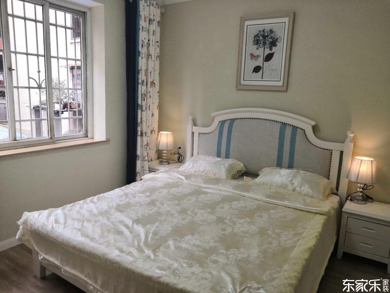 105平米欧式风格次卧装修效果图