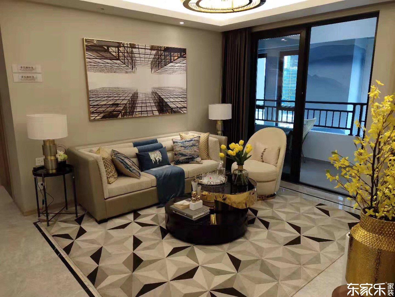 长沙新城和越115平米中式风格装修案例