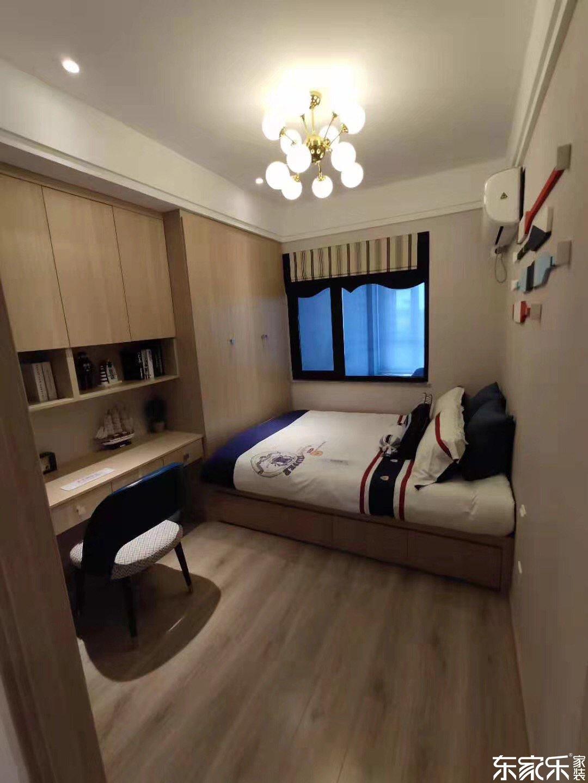 115平米中式风格次卧装修效果图