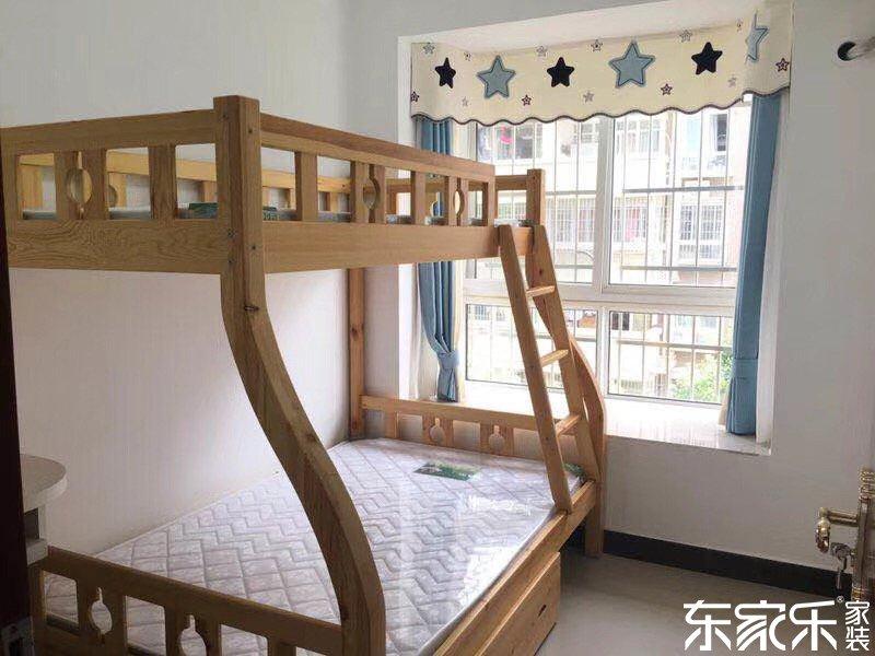 110平个性混搭风格儿童房装修效果图