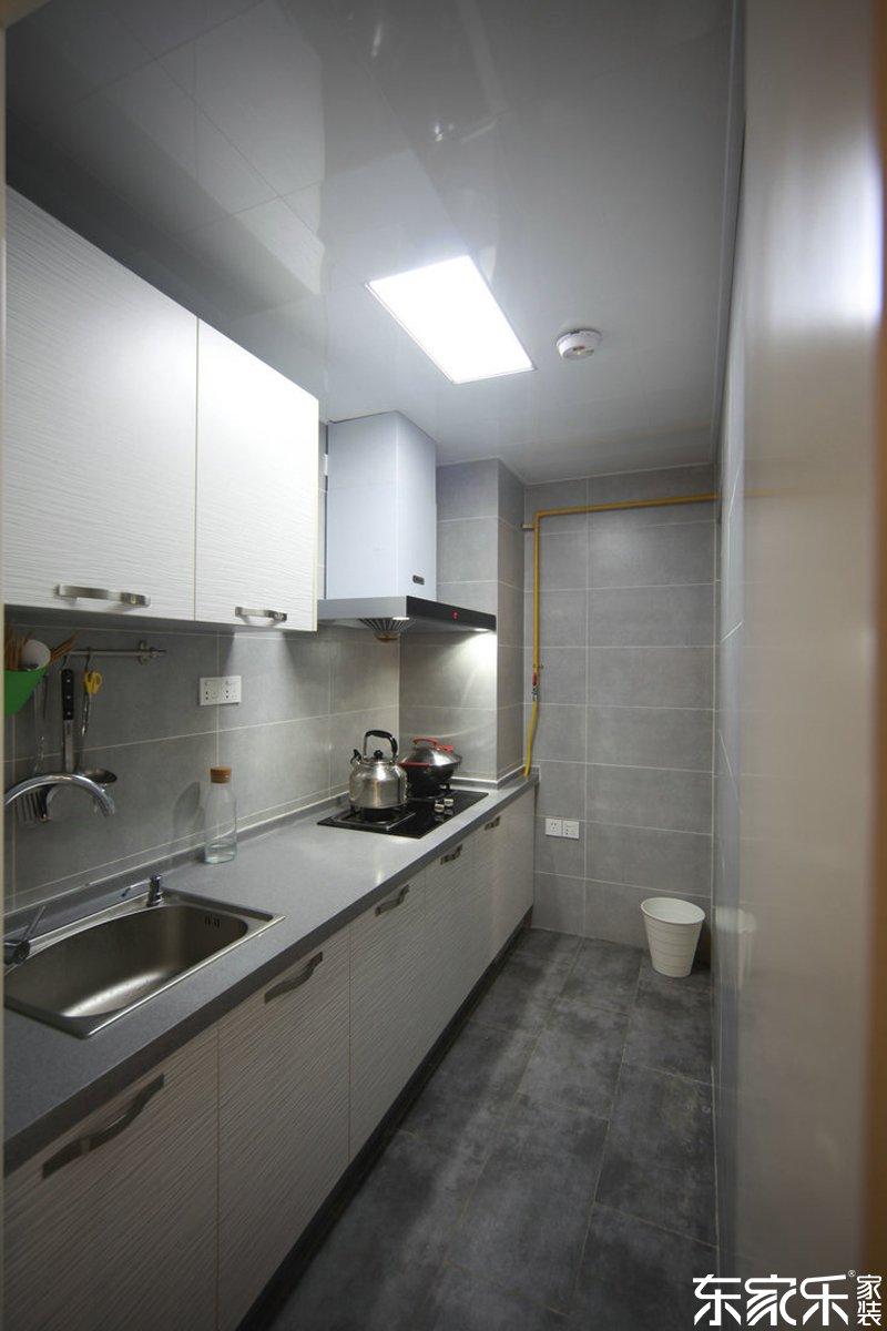 衡阳90平现代简约风格厨房装修效果图
