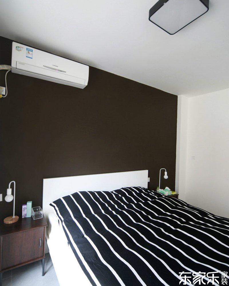 衡阳90平现代简约风格卧室装修效果图