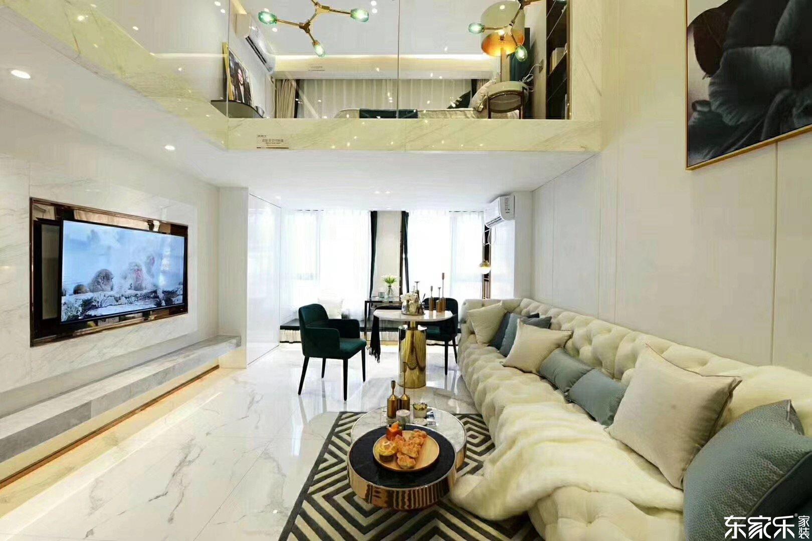 loft公寓房效果图