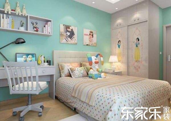 儿童房装修设计要点 安全环保是重点!